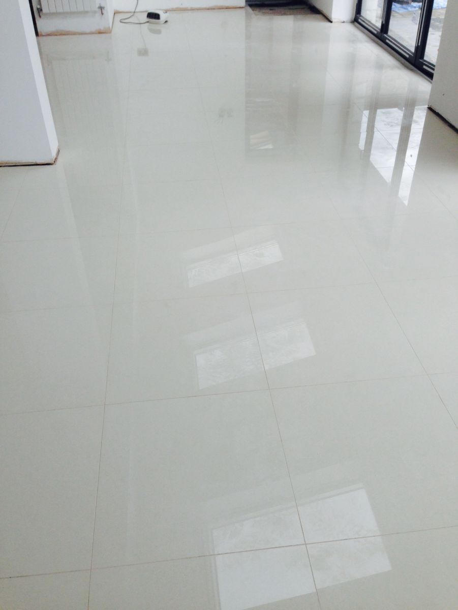 White polished porcelain , Porcelain  tile and stone flooring